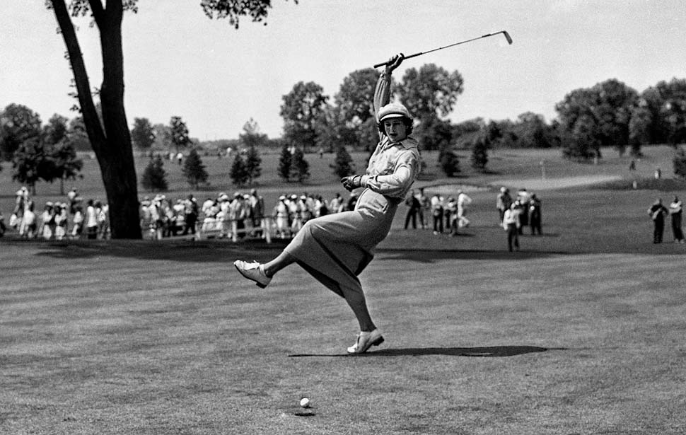 "Mildred ""Babe"" Zaharias was the first woman to ever play in the all-male PGA tournament in the late 1930's."
