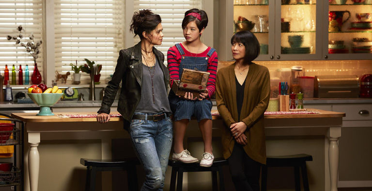 Bex, Andi, and their grandmother explore Bex's box of secrets, which revolves around Andi's parents.