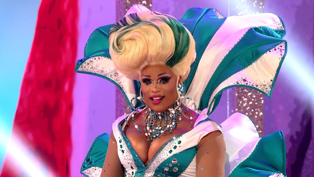 COURTESY OF  LOGOTV    Peppermint, a Queen of Season 9, came out as a trans woman mid season.