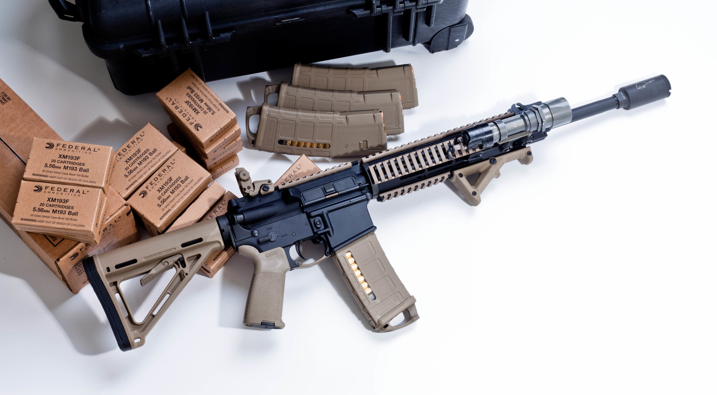 The Anatomy and damage of an AR-15 — The Quaker Campus