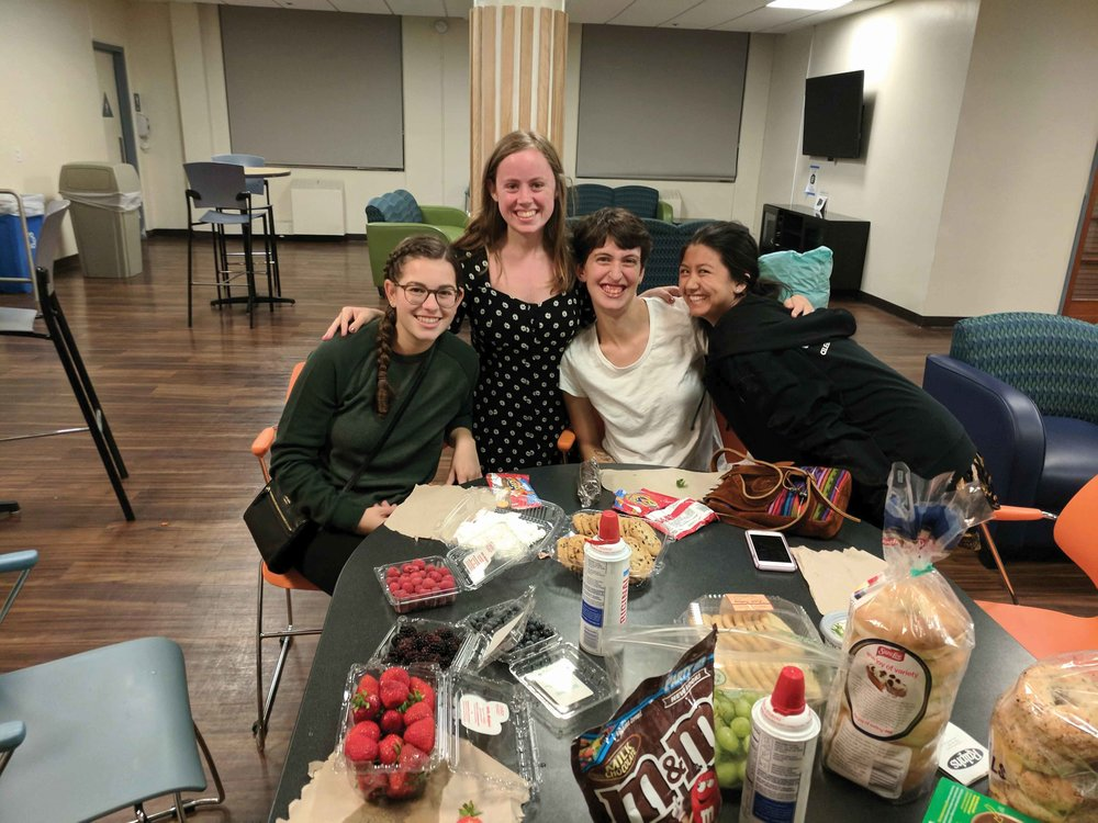 Members of the JSU celebrate their Jewish faith and have open doors for the College community to learn and participate in their celebrations. (PHOTO COURTESY OF MAYA ELYON)