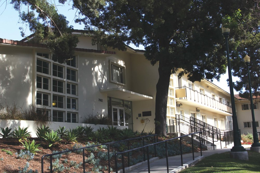 Residence hall at Whittier College