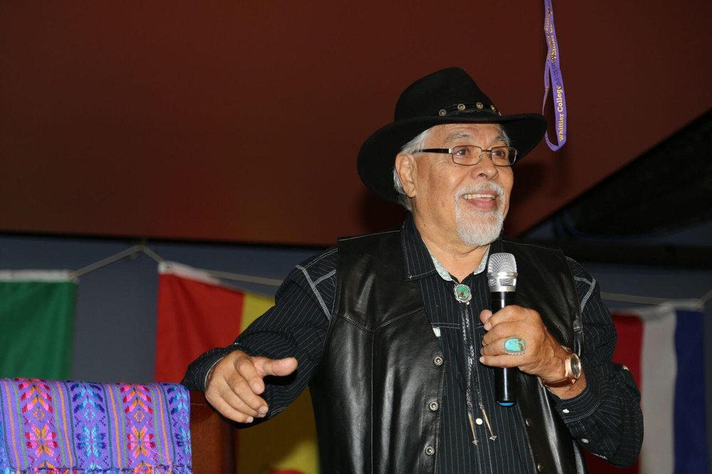 Eliseo Alex Tenorio, dedicated volunteer and mentee of Ortiz, shared Ortiz's story of how he became El Jefe.