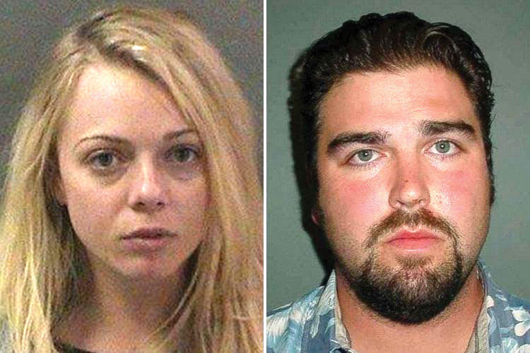 Rachel Buffett and Daniel Wozniak are now both in jail. Courtesy of  People