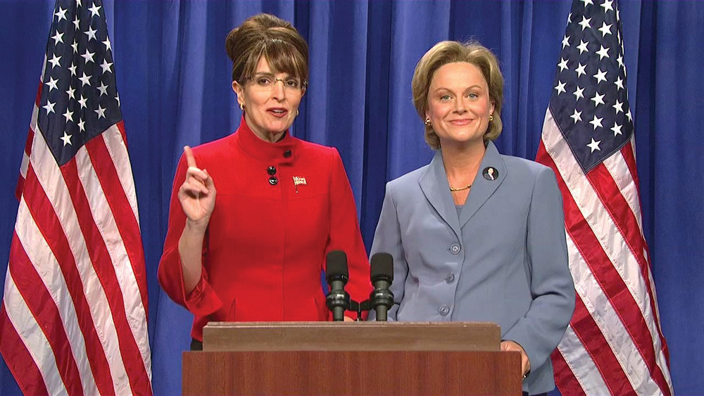 Tina Fey's representation of Sarah Palin is one example of infotainment interfering with politics.  Photo courtesy of  NBC