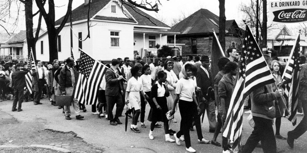 Minority groups have been fighting for voting rights for hundreds of years.  COURTESY OF  AMERICAN YAWP