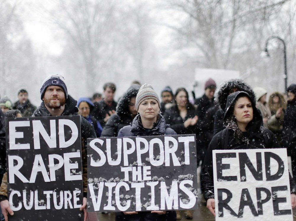 The support of victims is necessary in ending sexual assault.  COURTESY OF   BUSINESS INSIDER