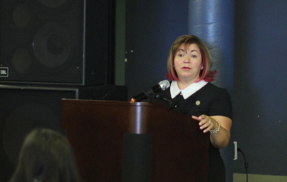 Congresswoman Linda Sánchez.