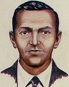 FBI composite of D.B. Cooper.   Photo Courtesy of Wikipedia