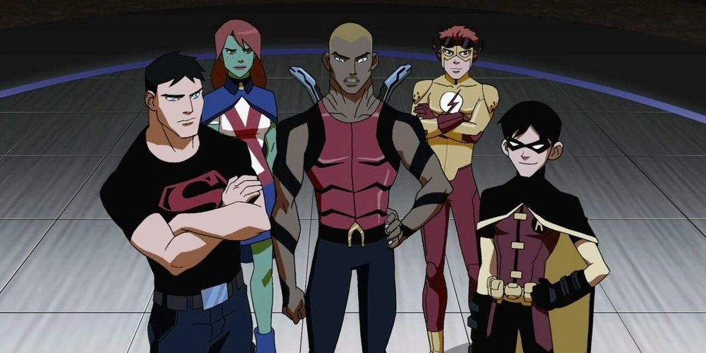 The original Young Justice team.  COURTESY OF  INVERSE