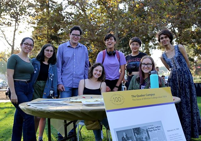 Thank you to everyone who stopped by our booth at the Student Activities Fair! Join us at our assignment meeting this Thursday at 4:30 in our office below the CI to learn more about the QC.