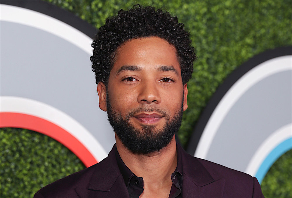 Jussie Smollett is depicted here before the alleged attack. COURTESY OF  TVLINE