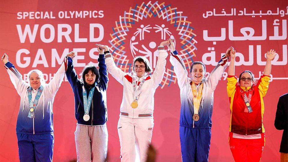 The Special Olympics have been an annual event since 1968.  COURTESY OF  GLOBALSPORTS MATTERS