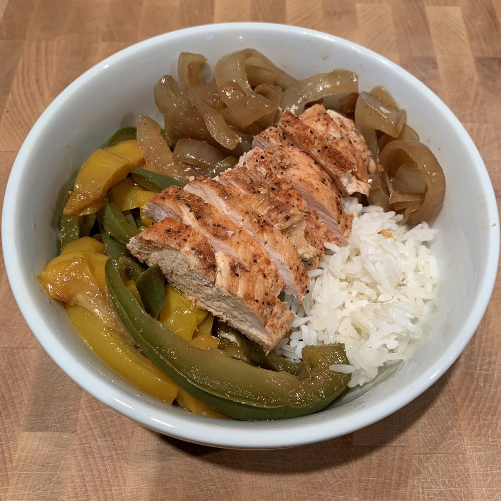 Fajita Chicken Bowl