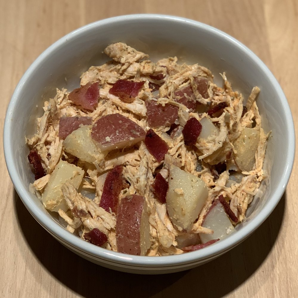 Chicken Bacon Potato Ranch Salad