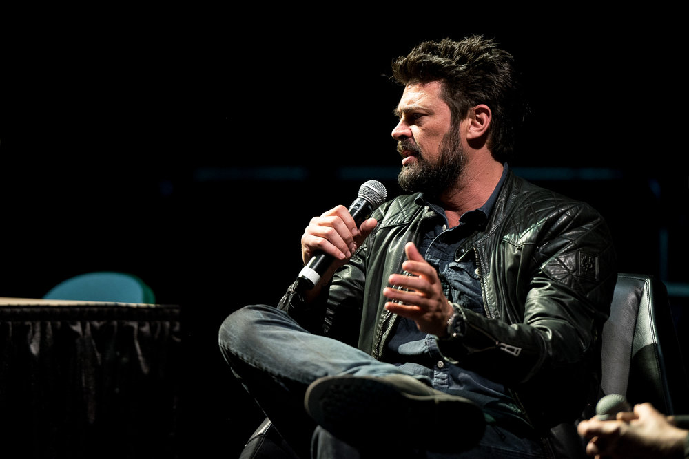 The unforgettable Karl Urban offering words of wisdom  photo credit Christos Sagiorgis/Cvlt Stvdio