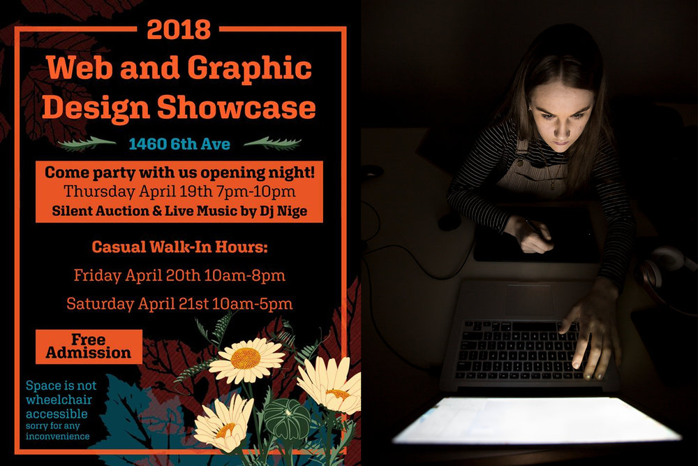 CNC Graduates Host 2018 Web and Graphic Design Showcase – And You're Invited!