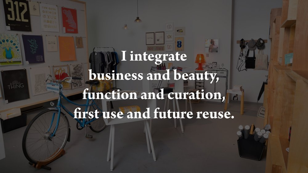 Retail Director  ::  The Chicago Design Museum Store