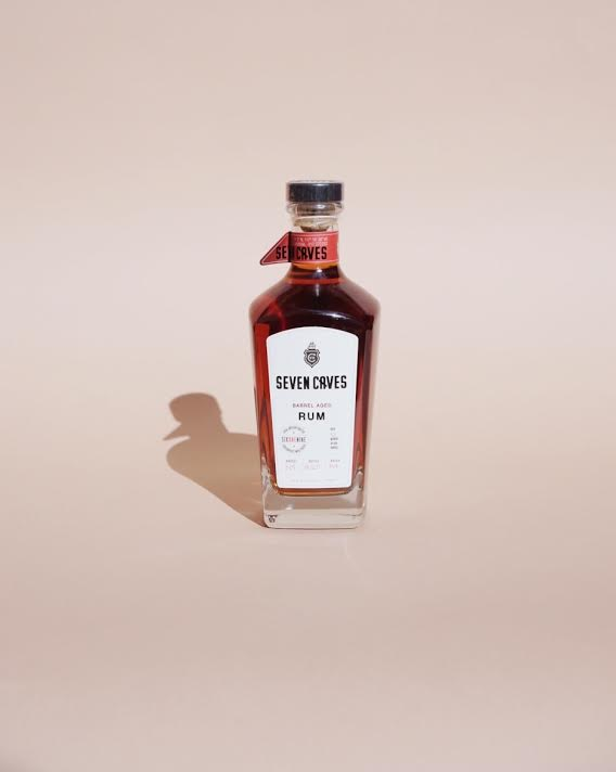 SEVEN CAVES - barrel aged rum, San Diego CA