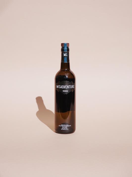 MISADVENTURE - sustainable vodka, San Diego CA