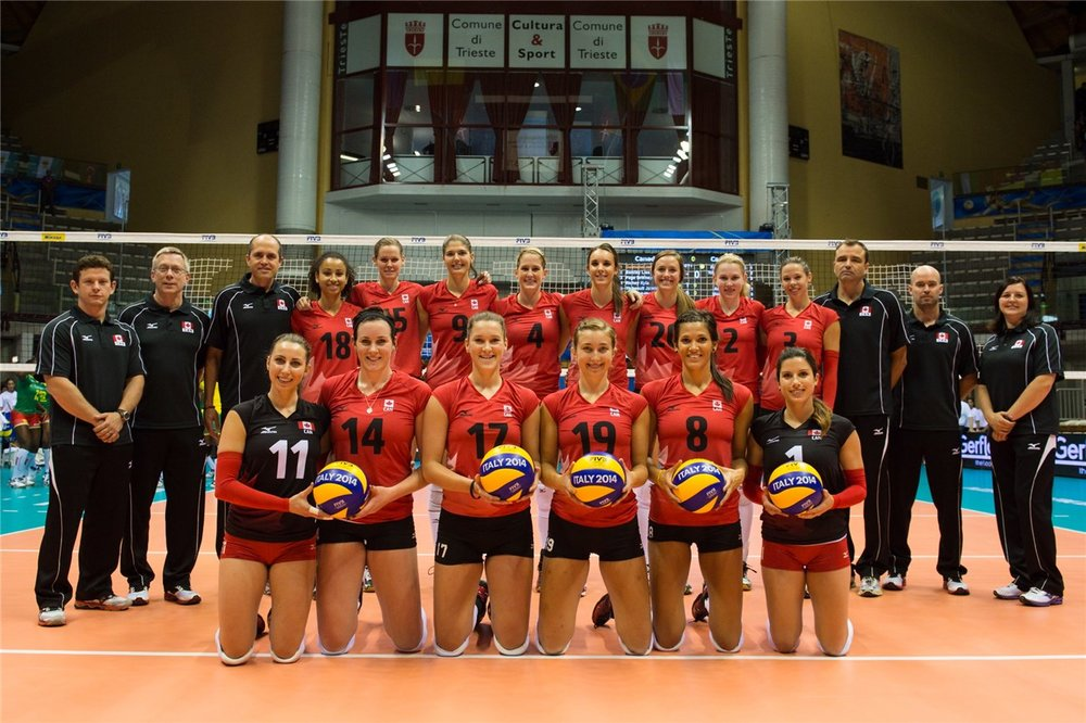 FIVB World Championships 2014 in Trieste, Italy. Photo courtesy of FIVB.