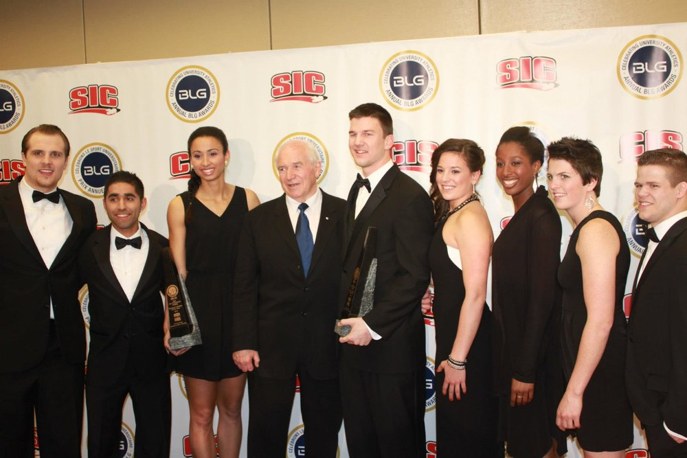 2013 BLG Awards for CIS Athlete of the Year in Toronto.