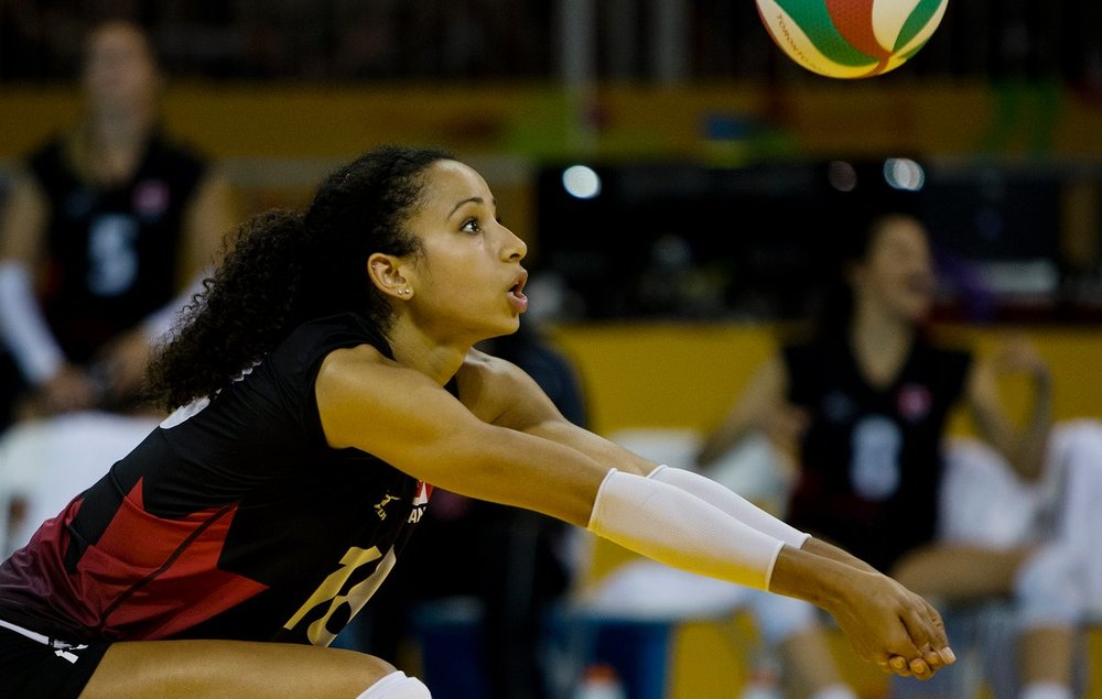 2015 Pan Am Games. Photo courtesy of Volleyball Canada