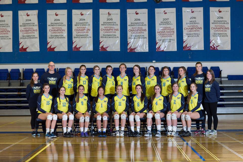 Sarah (#4) and her NAIT Ooks.