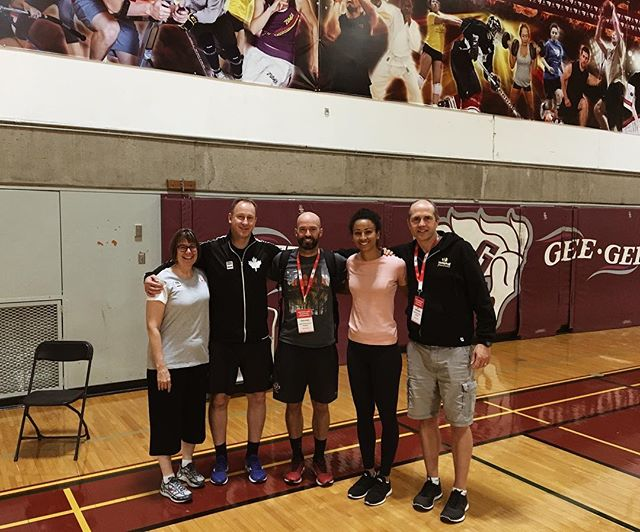 I've been really fortunate in my indoor career to have been coached by some brilliant minds with big hearts. And I feel really fortunate to have their support in giving this thing called coaching a try. Thank you Ottawa for an amazing week of connecting with incredible individuals who share the same love for our ever evolving game of keeping the ball off the ground. #volleyballcanada #teamcanada