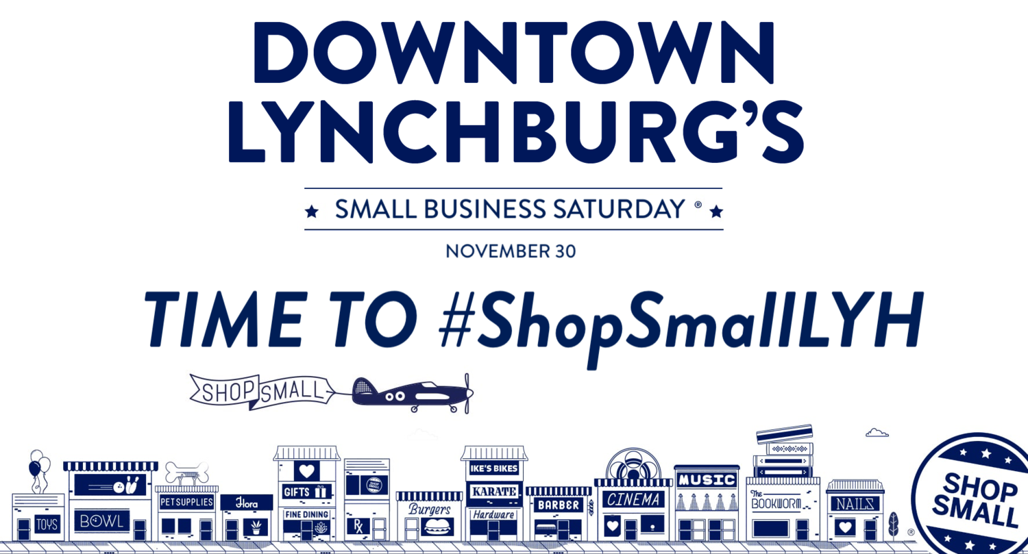 Small Business Saturday in Downtown Lynchburg