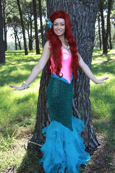 Ariel (pink) - The Little Mermaid