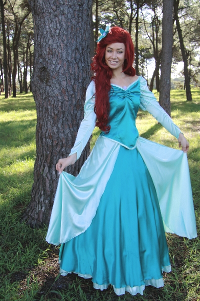 Ariel (green ballgown) - Disney Princess