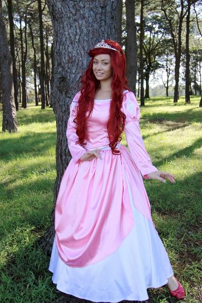 Ariel (pink ballgown) - Disney Princess