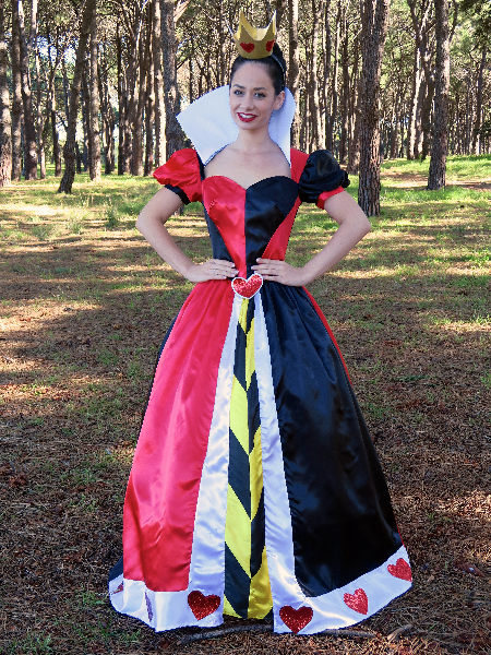 Queen Of Hearts (full skirt)