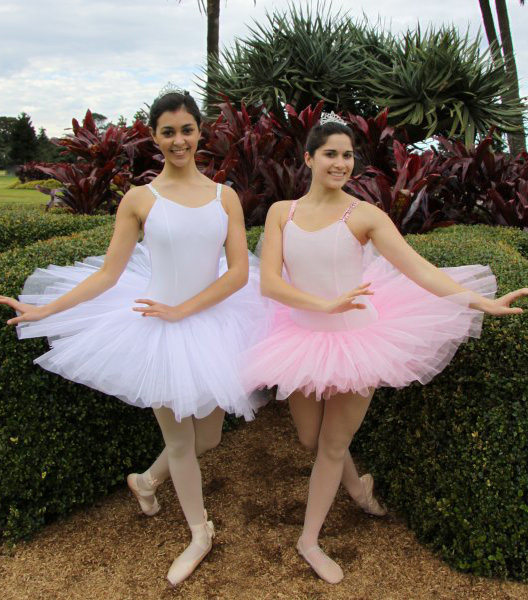 Ballerinas (pink or white tutu)
