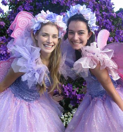 Garden fairy dresses