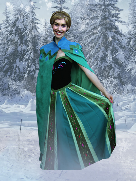 Princess Anna, Frozen (coronation dress)