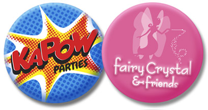 KAPOW parties and Fairy Crystal & friends