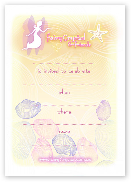 Click to open and print this Beach themed invitation!