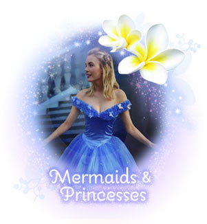 Choose a Mermaid or Princess