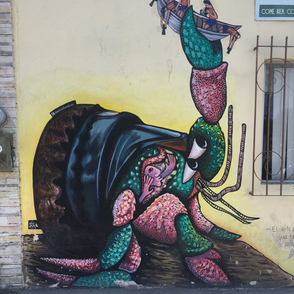 Street Art in La Paz, Mexico | Watson & Walls
