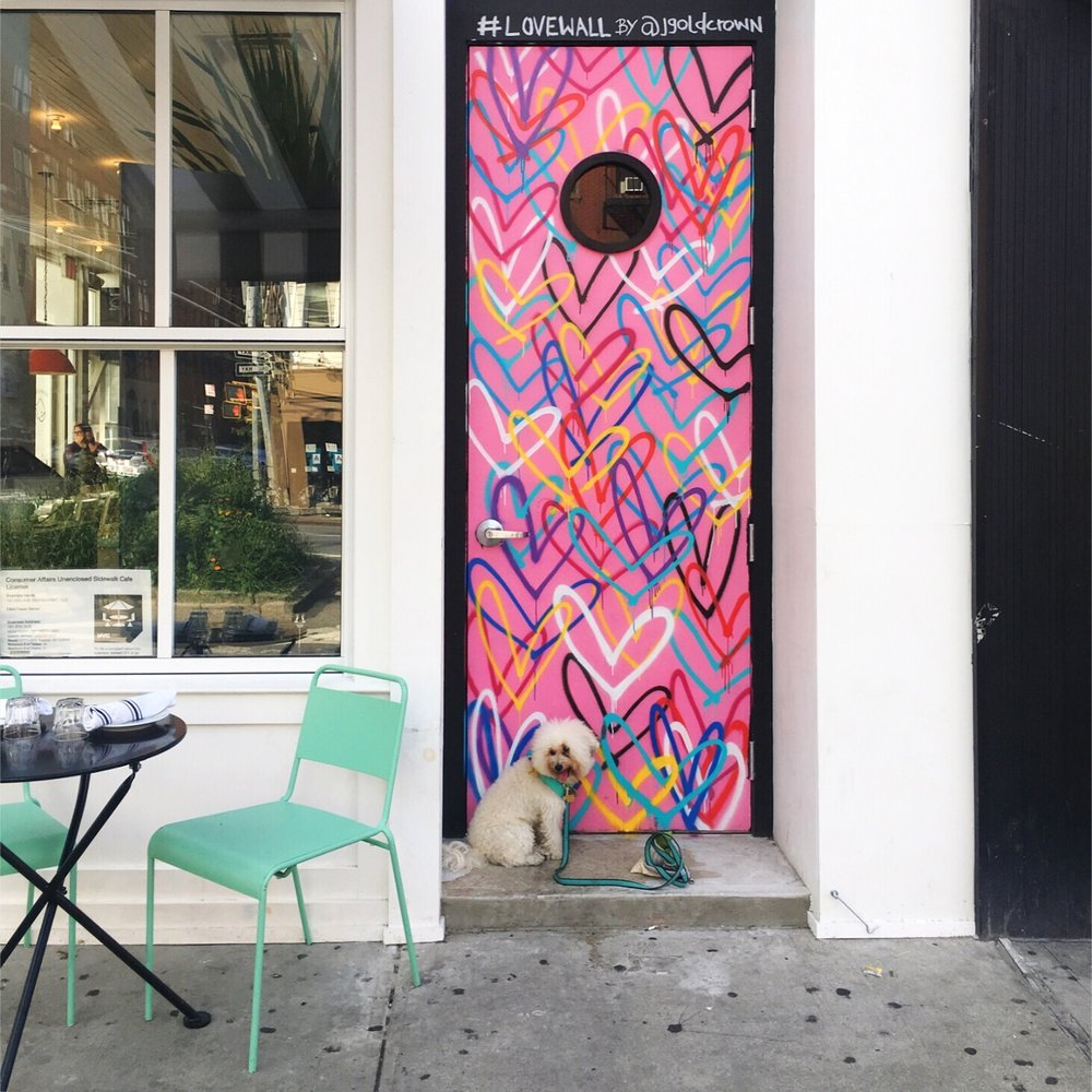 Love Wall by @jgoldcrown in Chelsea New York | Watson and Walls