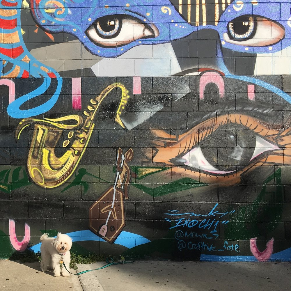 Jazz Mural cont. by Marcos Seit'e and Cre8tive Fate