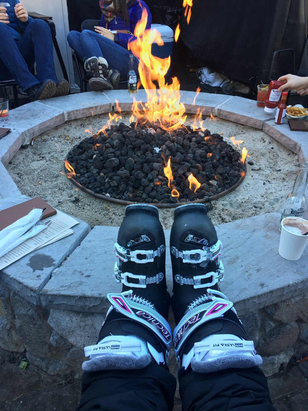 Ski boots at Gunbarrel in South Lake Tahoe, CA | Watson & Walls