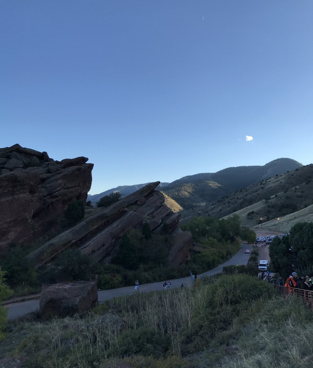 View from Red Rocks Ampitheater | Watson & Walls