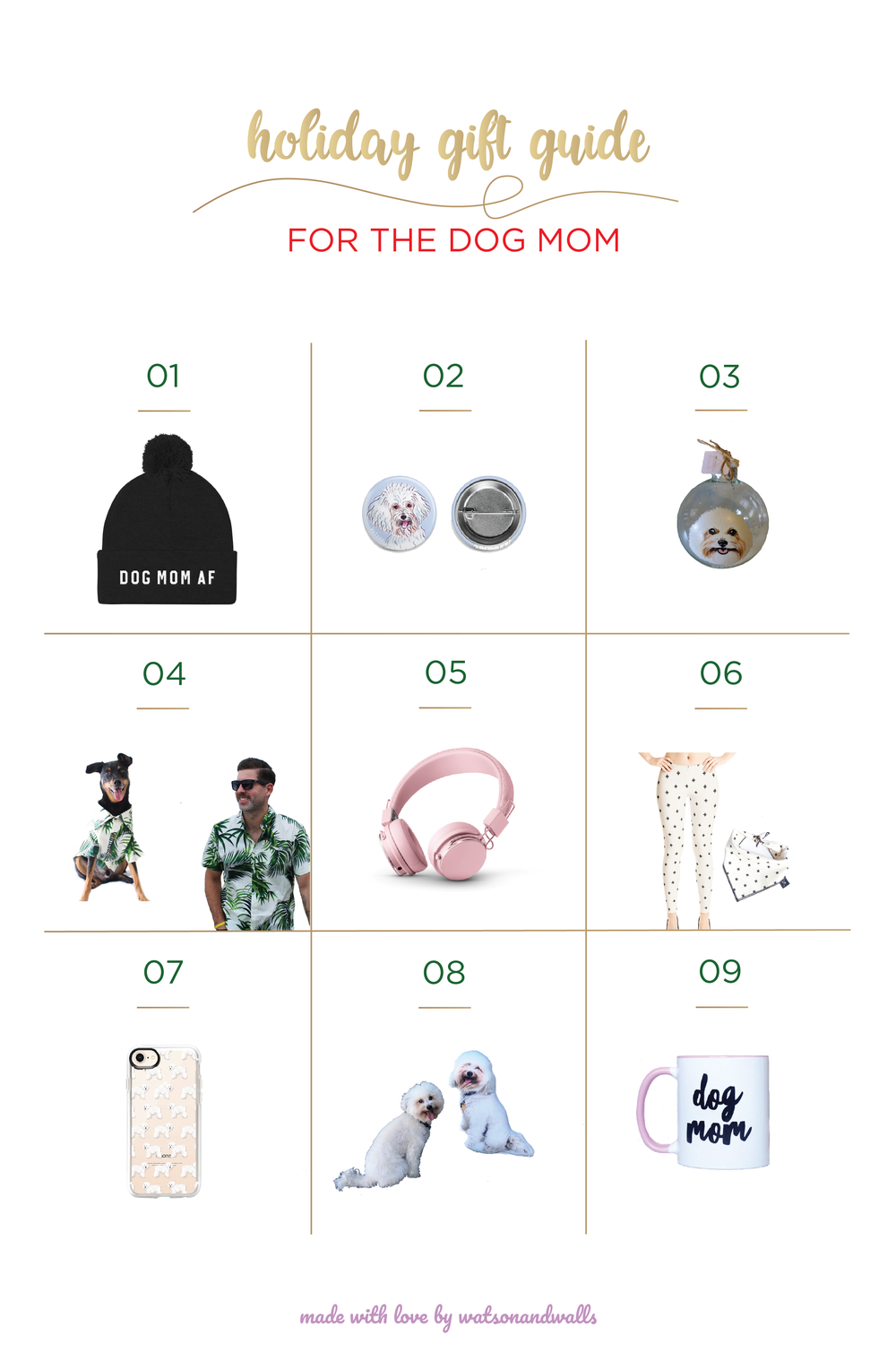 9 Best Gifts for the Dog Mom | Watson & Walls