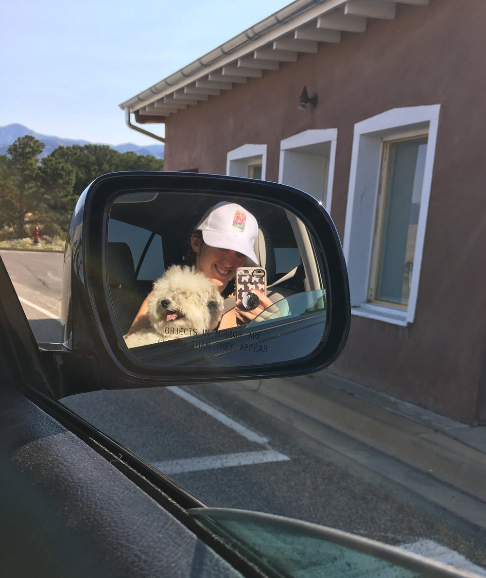 Objects in mirror may be fluffier than they appear