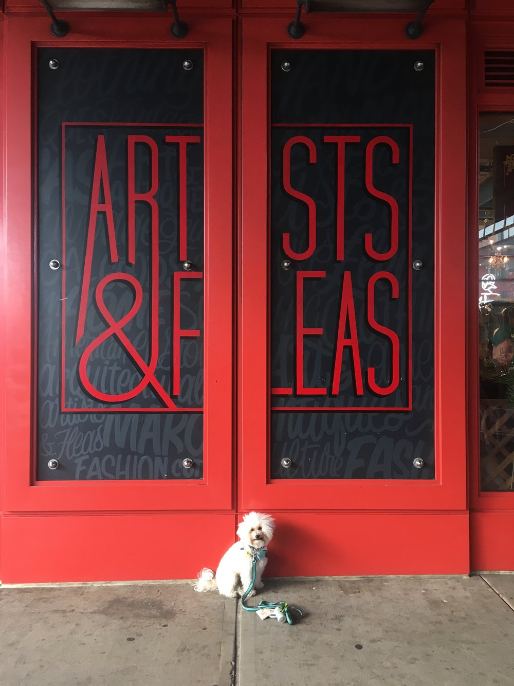 Dog-friendly shopping in New York, NY - Arts & Fleas | Watson & Walls