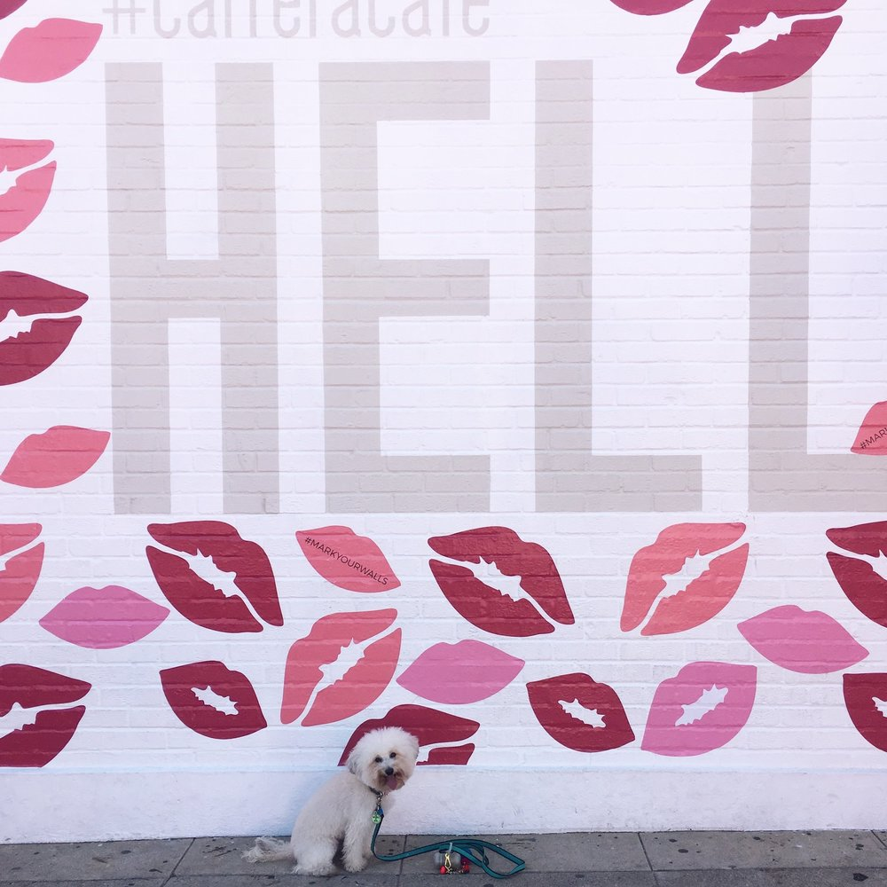 Best murals in West Hollywood, CA - Carrera Cafe | Watson & Walls