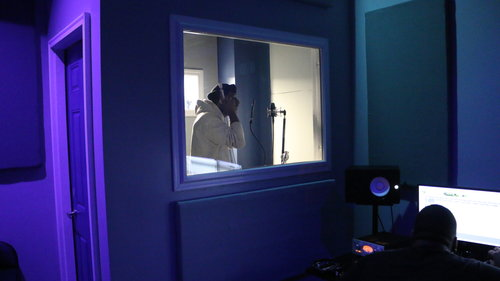 ..Record a track in The Plaza Recording Studio.